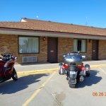 Bridgeport NE Outside Room #1 Meadowlark Inn