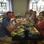 Fantastic food experience with Luis and his family