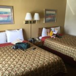 Our room with 2 queen beds