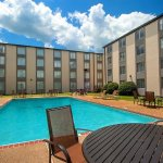 Soak up some rays at our outdoor pool