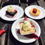 amazing selection of homemade puddings!