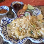 Prawns Pad Thai Noodles - excellent