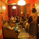 A night in Common Room - Stray Cat Hostel