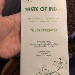 Taste of India Foto