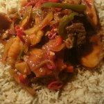 Special Mix in Szechuan Sauce