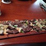 Blackened Steak & Blue Cheese Flatbread