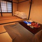 Tatami floors, rice paper walls