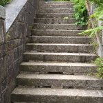 Steps only access to chapel annexe