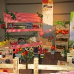 Strawberry Festival display