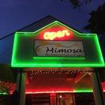 Mimosa is Open