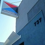 The Kinney Exterior Sign