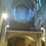 Aquí el órgano de la Catedral.