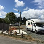 This is site 24 which we paid for at KOA Eureka. They moved us to a spot that was not equal to t