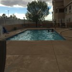 Outdoor pool. No hot tub