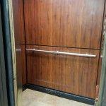 Small hotel elevator