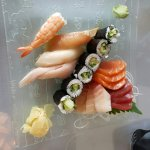 Sashimi and Sushi dinner