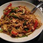 Thai spicy chicken bowl
