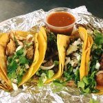 Our five different street style tacos