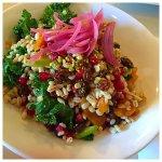 pomegranate barley salad