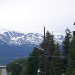 View of mountains from in Leadville