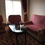 Inside a suite