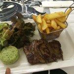 Délicieux steak de Taureau