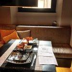 Breakfast room setting