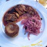 Lunch im Kandinsky, sehr lecker