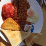 One of the best full English breakfast I have ever try. The picture is a full Irish breakfast, I