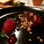 Foie Gras, seared with cherry compote