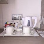Servicio de café, té, colacao... muy completo