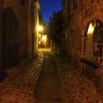 The street at night!