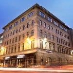 Hotel Indigo enjoys a peaceful location at night