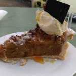 Their other deserts are also delicious! (Pecan pie)