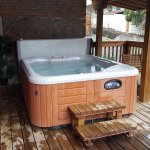 Hot Tub for St. Elmo guests