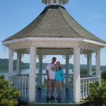 Gazebo, overlooking Watts Bar Lake.