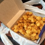 Double order of cheese curds