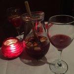 jar of sangria - pretty good value
