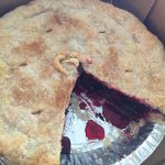 So awesome! Super great pie with 4 berries. Everything here has been so fresh and homemade! I hi