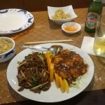 The Hunan Twin Meal was delicious!