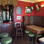 A comfortable bar area