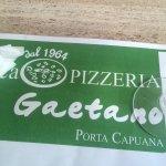 Photo de Pizzeria da Gaetano