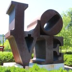 The original sculpture by Robert Indiana 1970