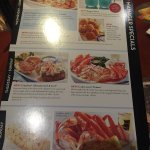special menu items July 2016
