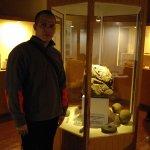 dentro del museo