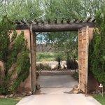 One of the entrances in La Cuesta
