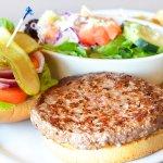 Grass-Fed Angus Beef Burger