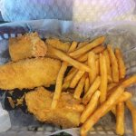 Club and AYCE Fried fish platter
