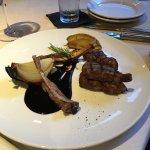 Delicious lamb chops