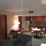 Kitchenette in suite